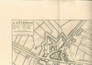 Plan de Fort de Knocke.