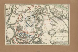 Plan von der den 20ten Nov. A° 1759 bey Maxen vor gefallene Action und der den 2