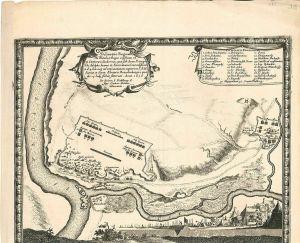 Delineatio Regionis Ubi Wistula, et Bugus confluunt, ut et Castrorum Suedicorum,
