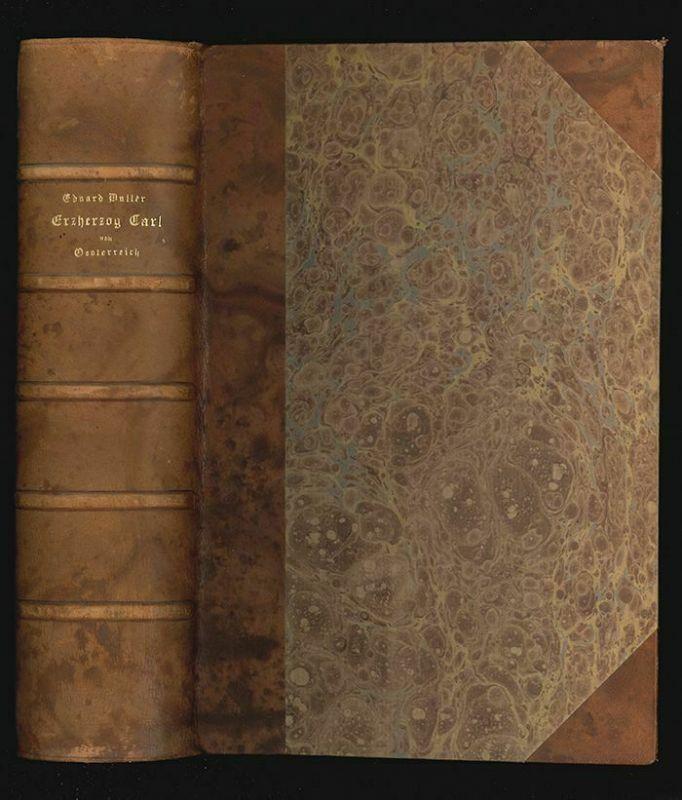 DULLER, Erzherzog Carl von Oesterreich. 1847