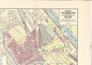 Plan des II. Bezirkes (Leoplodstadt) der k.k. Reichshaupt- und Residenzstadt Wie