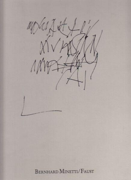 AHRENS, Bernhard Minetti/Faust. 1983