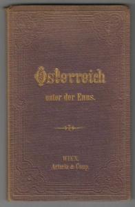 Special-Karte von Oesterreich unter der Enns. nebst den angränzenden Theilen von