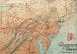 Pennsylvania Eisenbahn. Die Musterbahn Amerikas.