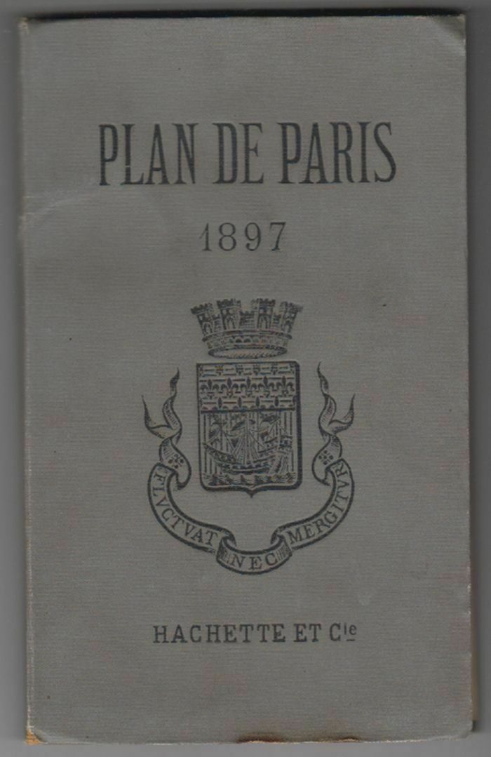 Plan de Paris. 1897. 0
