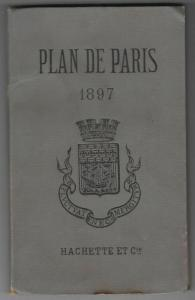 Plan de Paris. 1897.