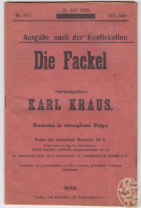 DIE FACKEL. Hrsg. Karl Kraus. 0414-16