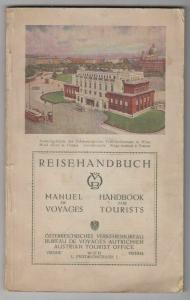 Reisehandbuch. Manuel de Voyages. Handbook for Tourists. Österreichisches Verkeh