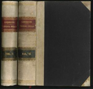 Theologia Moralis. LEHMKUHL, Augustino.
