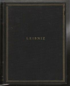 LEIBNIZ, Allgemeiner politischer und... 1957