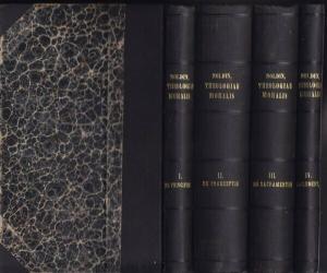 NOLDIN, Summa Theologiae Moralis iuxta codicem... 1923