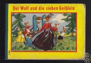 Der Wolf und die sieben Geißlein. 1955