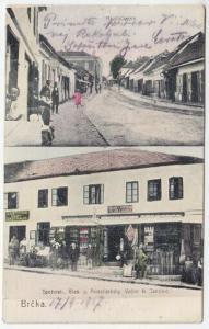 Brcka. Spezerei-, Glas- u. Porzellanhdlg.... 1906