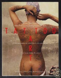 COOPER, Tattoo Art. Tätowierte Frauen. Skin... 1985