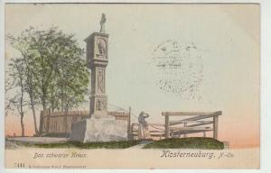 Klosterneuburg, N.-Oe. Das schwarze Kreuz. 1890