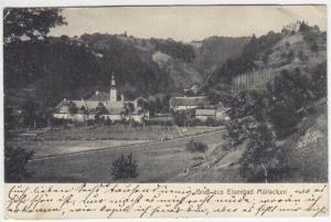 Gruß aus Eisenbad Müllacken. 1900