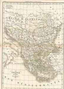 Turquie d` Europe. DUFOUR, A. H.