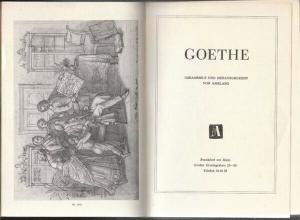 Goethe. Gesammelt und herausgegeben von Amelang. 1965