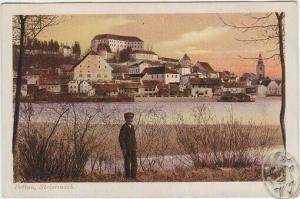 Pettau, Hauptplatz. 1913