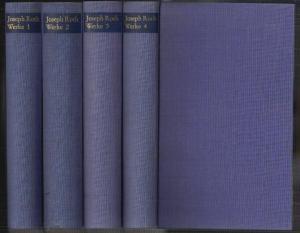 Werke. Herausgegeben und eingeleitet von Hermann Kesten. ROTH, Joseph.