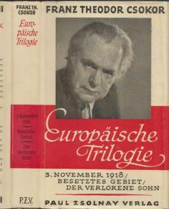 3. November 1918. Drei  Akte. CSOKOR, Franz Theodor.
