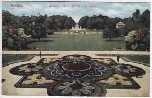 Dresden. Großer Garten. Blick vom Palais. 1900