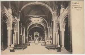 Milano. Chiesa di S. Ambrogio. Interno. 1900