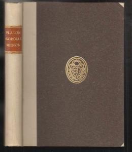 Platons Georgias / Menon. Ins Deutsche übertragen von Karl Preisedanz. PLATO.