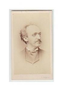 [Portrait eines Mannes]. 1873