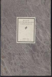 ZUCKERMANN, Gedichte. (Aus dem Nachlaß hrsg. v.... 1915 0736-02