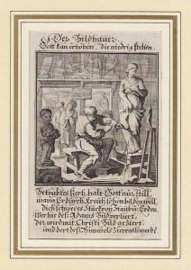 Der Bildhauer. 1700