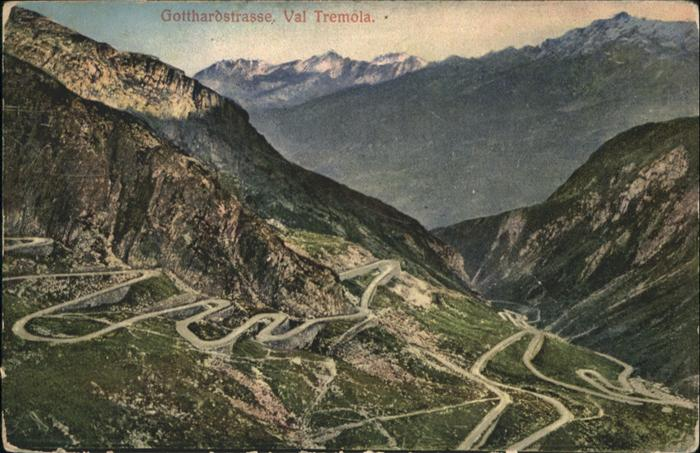 San Gottardo Strasse Val Tremola / San Gottardo /Bz. Leventina