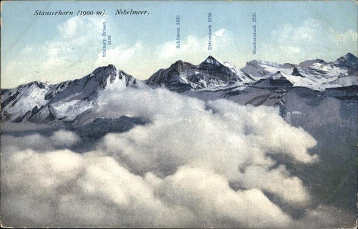 Stanserhorn Nebelmeer / Stanserhorn /Rg. Alpnach