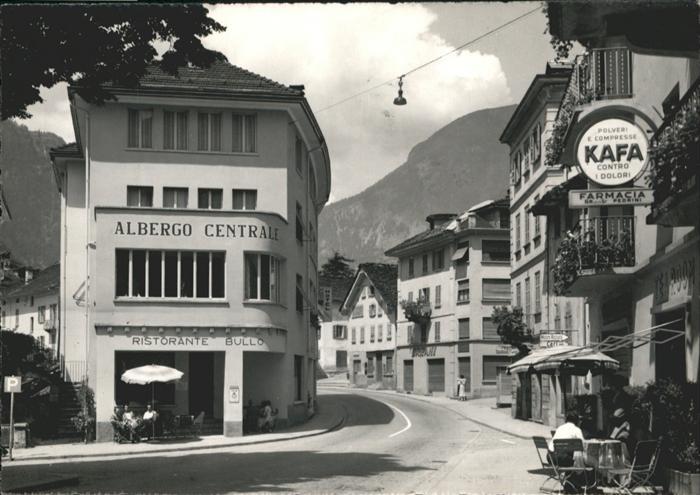 Faido Albergo Centrale Kafa / Faido /Bz. Leventina