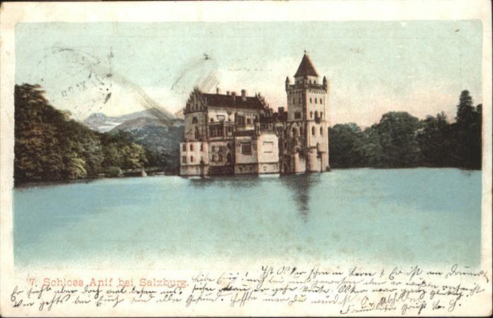 Anif Schloss bei Salzburg / Anif /Salzburg und Umgebung