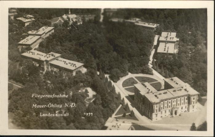 Oed-Oehling Fliegeraufnahme Landesanstalt / Oed-Oehling /Mostviertel-Eisenwurzen