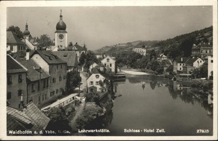 Waidhofen Ybbs Lehrwerkstaette Schloss Hotel Zell / Waidhofen an der Ybbs /Mostviertel-Eisenwurzen