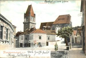 Perchtoldsdorf Hochstrasse Kirche  / Perchtoldsdorf /Wiener Sueden