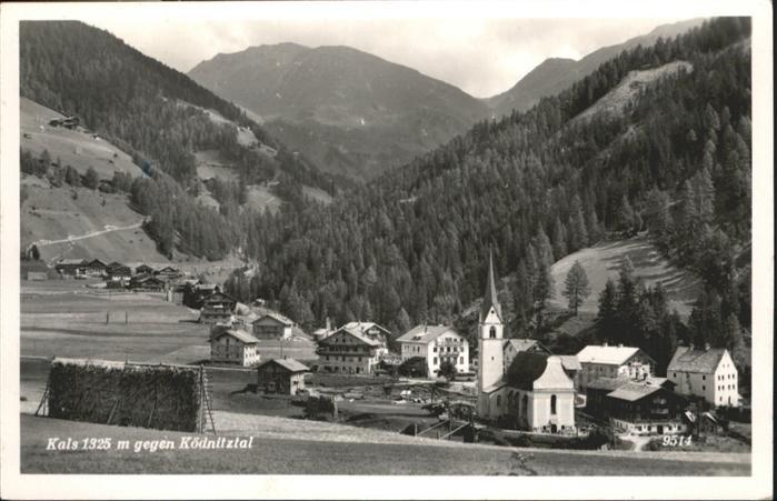 Kals Grossglockner Koednitztal / Kals am Grossglockner /Osttirol