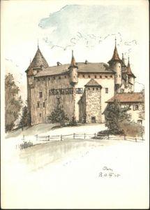 Oron-la-Ville Oron-la-Ville Schloss * / Oron-la-Ville /Bz. Oron