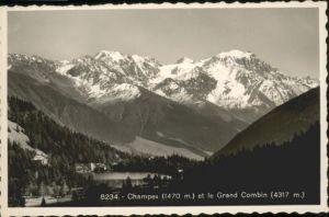 Champex Champex Grand Combin * / Champex /Rg. Les Valettes