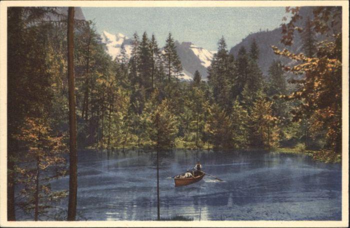 Blausee-Mitholz Blausee-Mitholz Boot * / Blausee-Mitholz /Bz. Frutigen