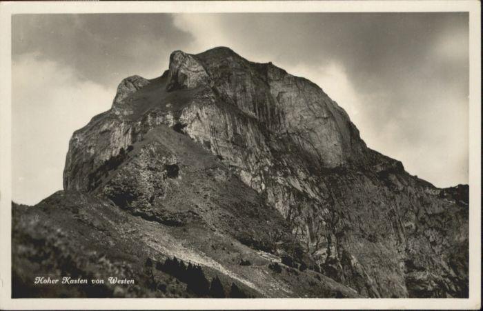 Hoher Kasten Hoher Kasten  * / Appenzeller Alpen /Rg. Saentis