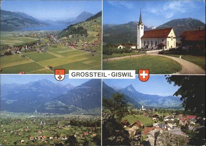Giswil Giswil Kirche Ruine Rudenz x / Giswil /Bz. Obwalden