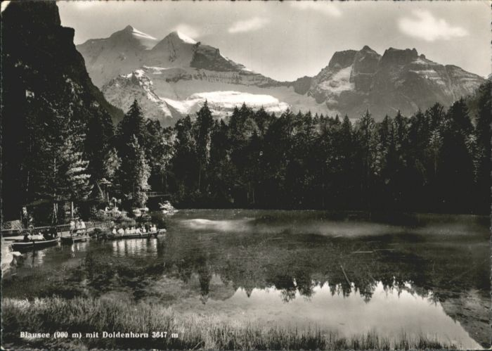 Blausee-Mitholz Blausee-Mitholz Doldenhorn * / Blausee-Mitholz /Bz. Frutigen