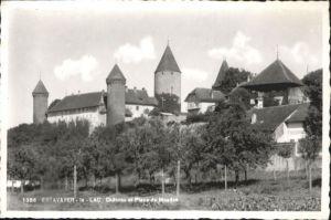Estavayer-le-Lac Estavayer-le-Lac Chateau Place Moudon * / Estavayer-le-Lac /Bz. La Broye