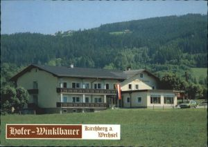 Kirchberg Wechsel Kirchberg Wechsel Gasthof Pension Hofer-Winklbauer * / Kirchberg am Wechsel /Niederoesterreich-Sued