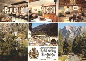 Nassereith Nassereith Tirol Hotel Schloss Fernsteinsee * / Nassereith /Tiroler Oberland