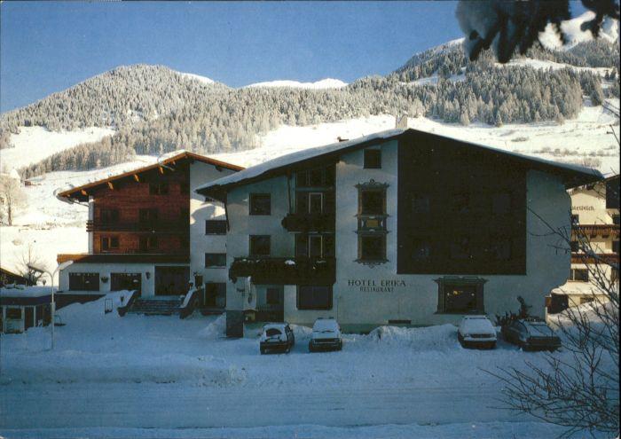 Nauders Tirol Nauders Reschenpass Tirol Hotel Erika * / Nauders /Tiroler Oberland
