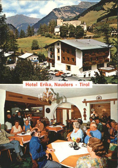 Nauders Tirol Nauders Rechenpass Tirol Hotel Erika * / Nauders /Tiroler Oberland